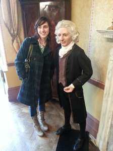 Gilbert White and I.  A fine small fellow.