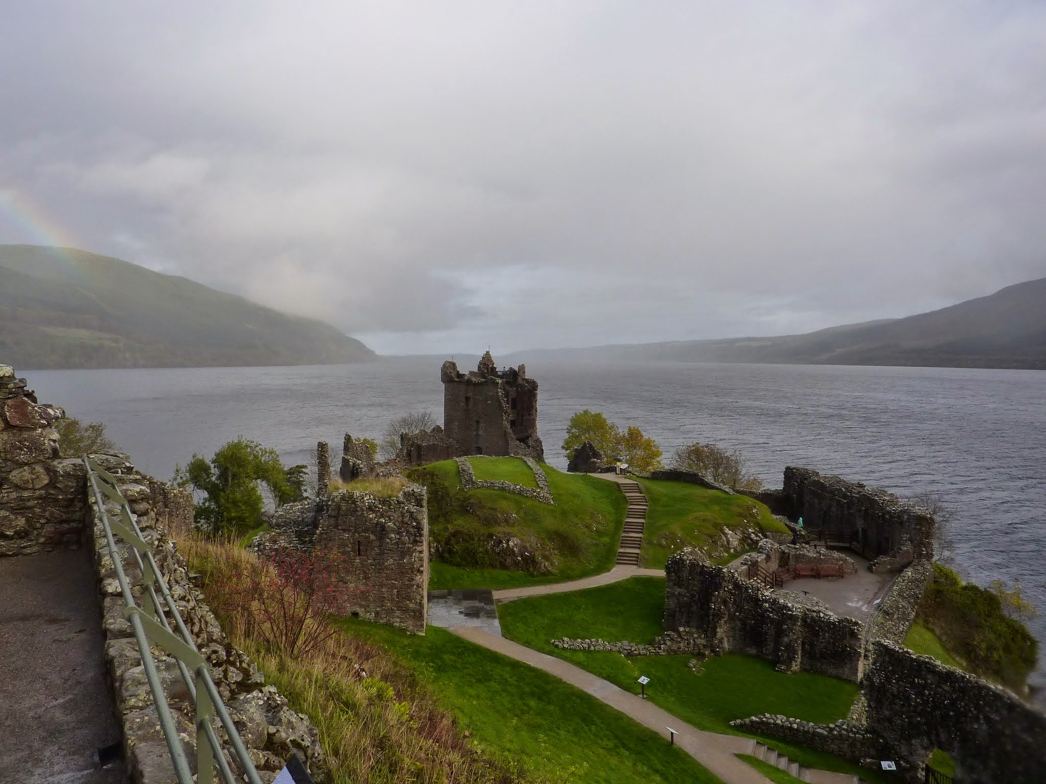 Loch Ness, Scotland: Urquhart Castle | Diverting Journeys