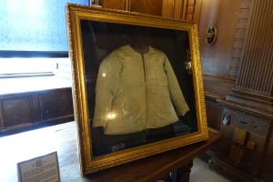 Blood stained shirt reputedly worn by Charles I at his execution