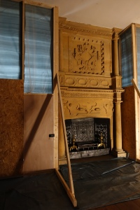 Room used during the filming of wolf hall - no idea which episode though