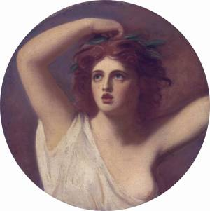 Lady Emma Hamilton, as Cassandra
