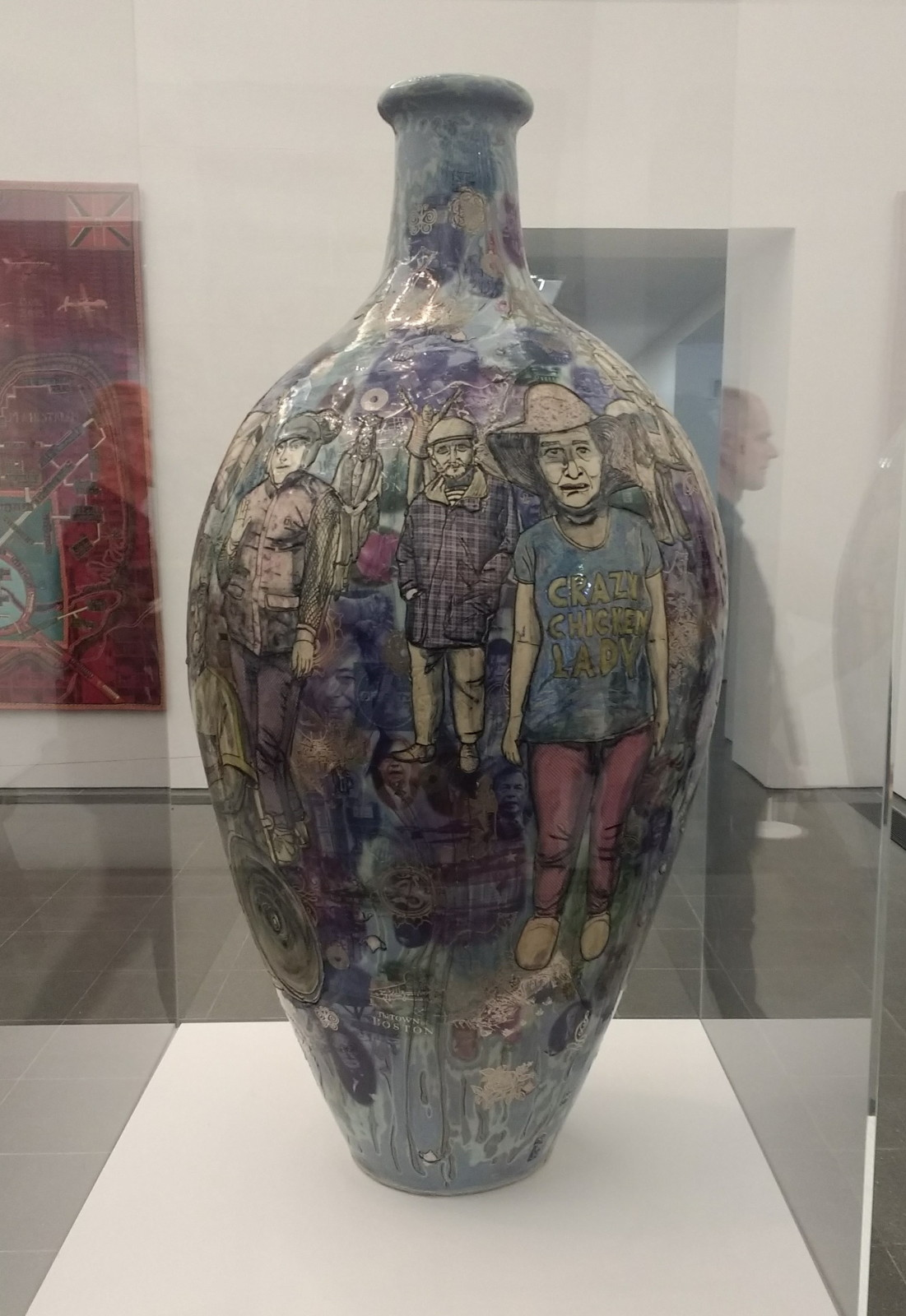 London grayson perrys the most popular art exhibition ever and the brexit vases above were of course excellent though my favourite vase was actually the first one in this post showing trump farage theresa may reviewsmspy